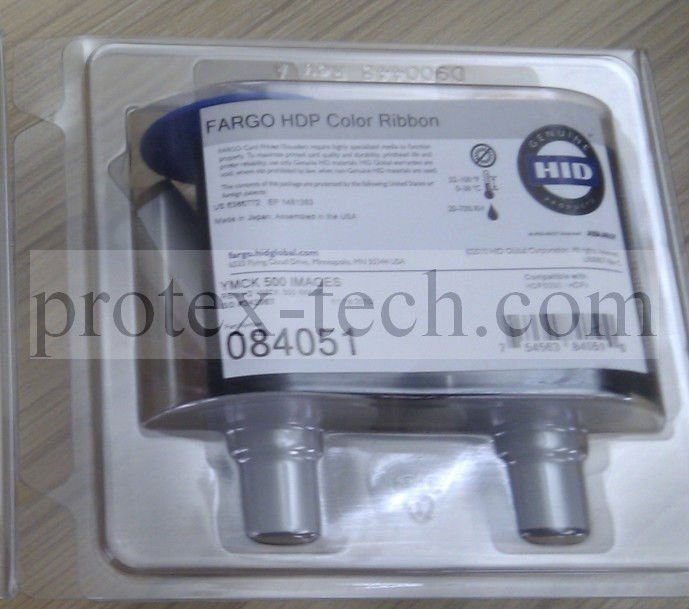 Fargo HDP5000 color Ribbon 84051 YMCK & Free shipping