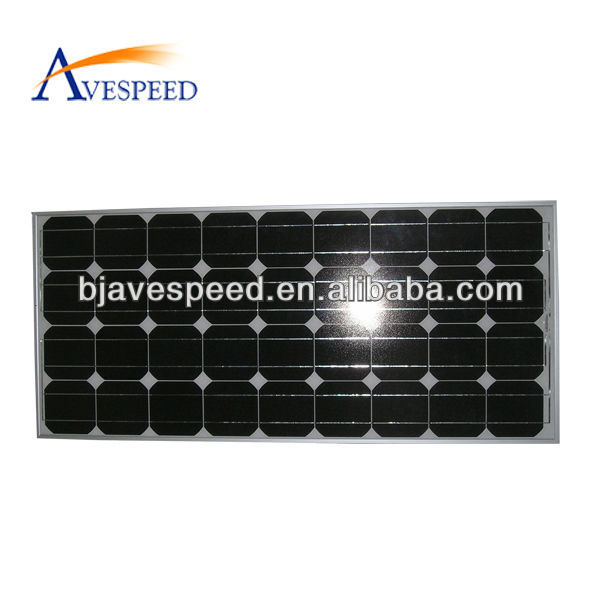 156 Series180W to 210W high conversion monocrystalline solar panel