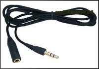 Аксессуары для гарнитуры 1.5m 5ft Stereo Headphone Extension Cord 3.5mm Cable