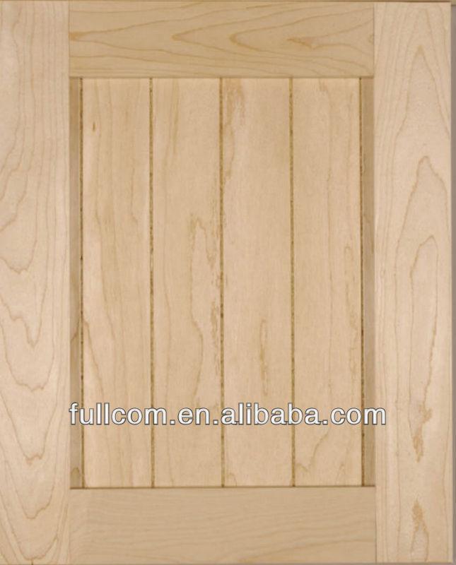maple beralur gaya pengocok dapur pintu lemari
