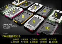 Чехол для для мобильных телефонов Drop Shipping, MOQ:1pcs, Water/Dirt/Shock/Drop Proof 1:1 Extreme TakTik PVC Case For iPhone 5 5G, A0218