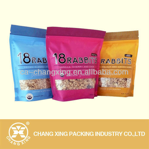 printed plastic laminate packaging foil film for medical food packing