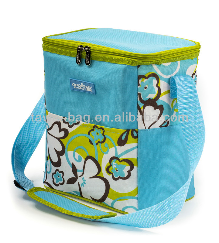 2014 newest design 12 can clear lunch solar powered cooler bags