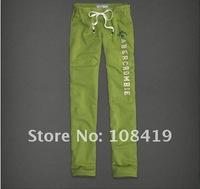 Женские брюки fashion&casual, top quality, 100% cotton, women's sport pants/casual/ ladies'casual trousers, more color