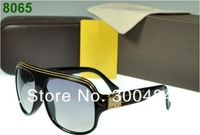Женские солнцезащитные очки 2012 New EVIDENCE sunglasses Millionaire Sun Glasses Black White Red Brown Grey New Design with Box tag