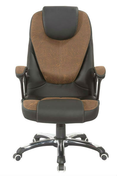 Y-2763 High back ergonomic swivel luxury steel back chair