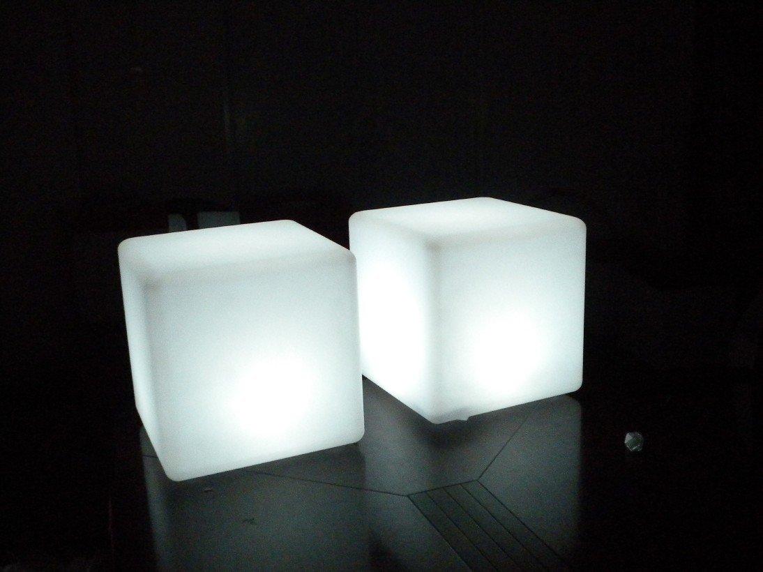 Led lighting plastic cube waterproof outdoor buy led waterproof pool