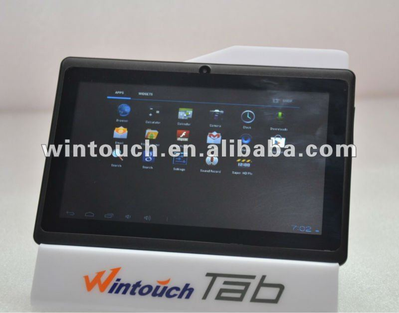 Android phone Tablet PC wintouch Q75 5points touch 4G nand android 4.0 sim card slot