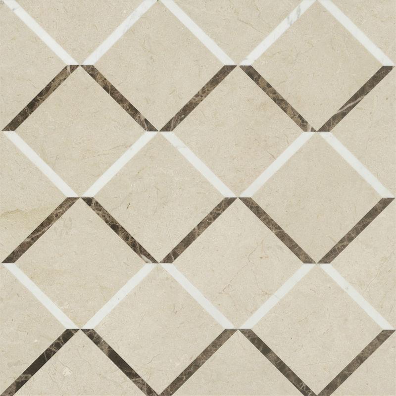 Modern Design Composite Marble Patterns Puzzle