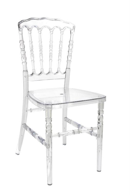 Transparent Chiavari Chair Crystal Napoleon Chair P 823