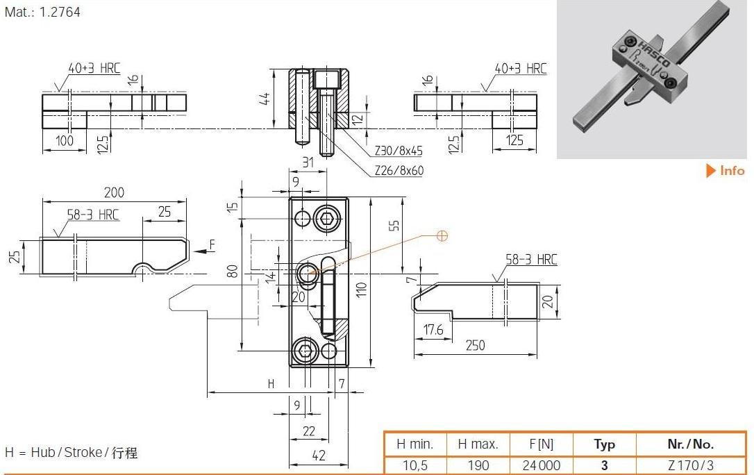 Mold Latch Locks Components