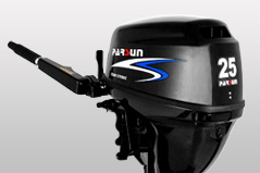 25hp 4-stroke outboard motor / remote control /electric start / short shaft / F25FWS / PARSUN