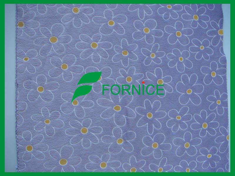 100% polyester velvet fabric for slipper sofa FNHY-0123