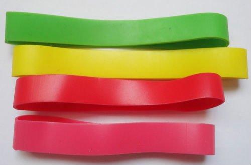 synthetic transparent blue color rubber bands buy colour