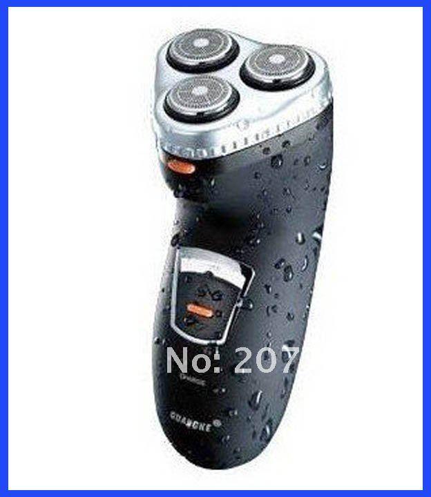 מכונת גילוח חשמלי רייזור דיוק גבוהה רשת עמיד למים 3 ראשים מיני callus גוזם מכונת גילוח נטענת שחור רחיץ גילוח 5085