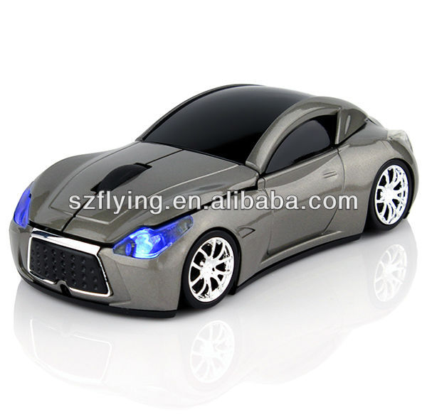 Hot sale car shape wireless mouse/rechargeable wireless mouse