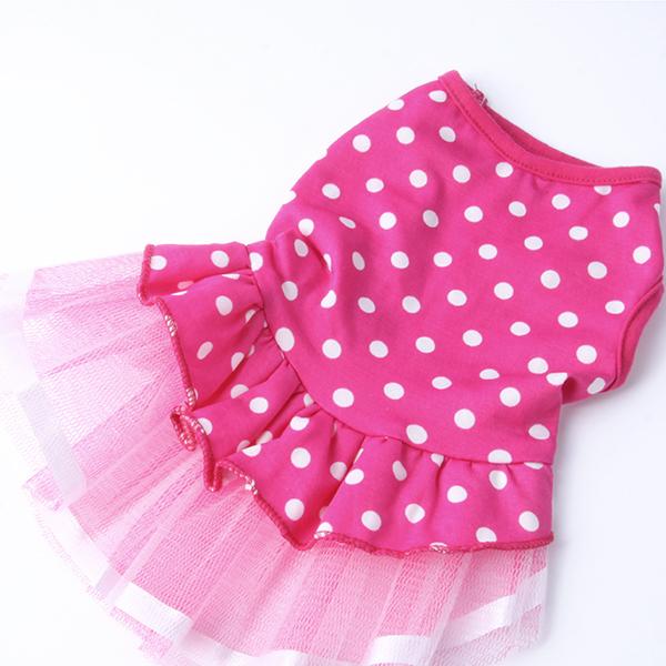 Cute Dog Cat Dot Lace Skirt Pet Clothes Tutu – Wholesale