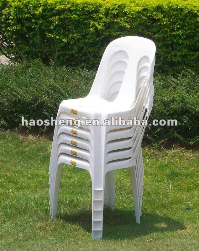 Chaise en plastique en plein air hs1610 chaises en - Chaises de jardin en plastique ...