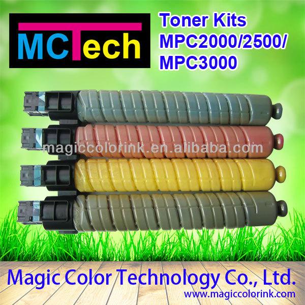 Compatible Toner Cartridge used ricoh copier for Ricoh Aficio MPC 2000 2500 3000