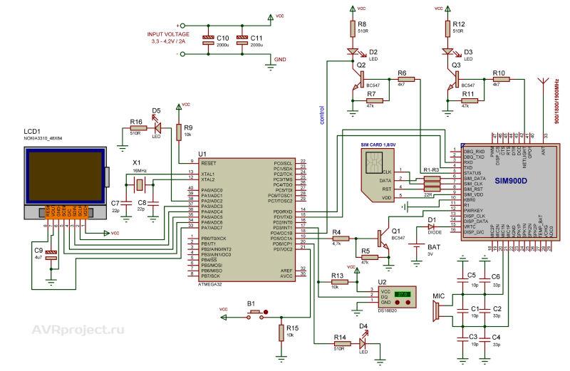 Gsm сигнализация своими руками на микроконтроллере pic - Sort-metall.ru