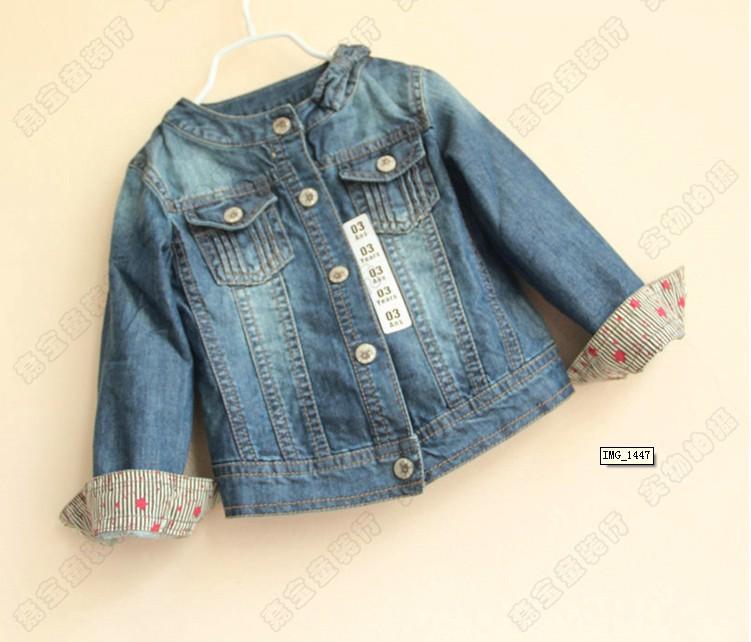 Джинсовую Куртку Для Девочки Купить