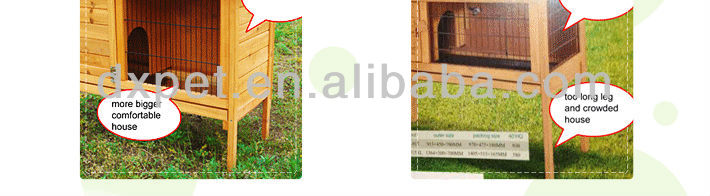 DXDH001 Handmade wooden Dog Kennel