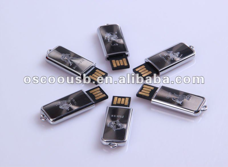 mini usb flash drive, push and pull style, 12 constellations