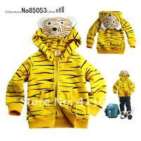 девушки ninsmoda пальто с капюшоном 3d животных конструкций мальчики девочки продать куртка тигра Привет Китти
