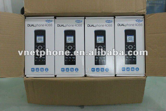Cordless Dual Phone Dual Phone Skype Pstn Rj11