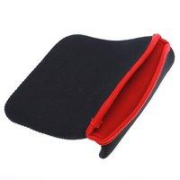 """Мягкая защитить ткань сумка крышка чехол сумка для 7"""" планшетный ПК середине ноутбука черный цвет + drop доставки"""