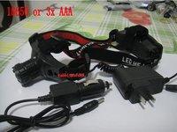 Налобный фонарь OEM 600 Zoomable R5 3 x AAA 18650 3000mAh