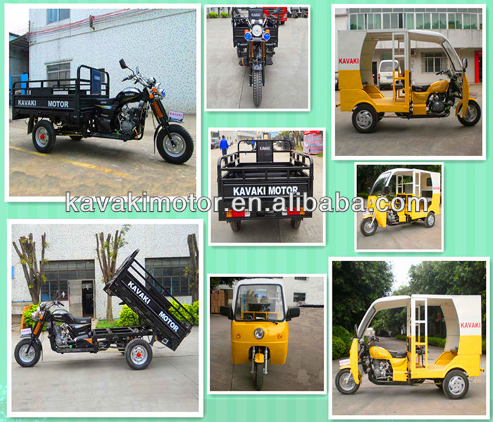 Guangzhou manufacturer new design 200cc gas high quality motorcycles/three wheel cargo tricycle in the coming market.