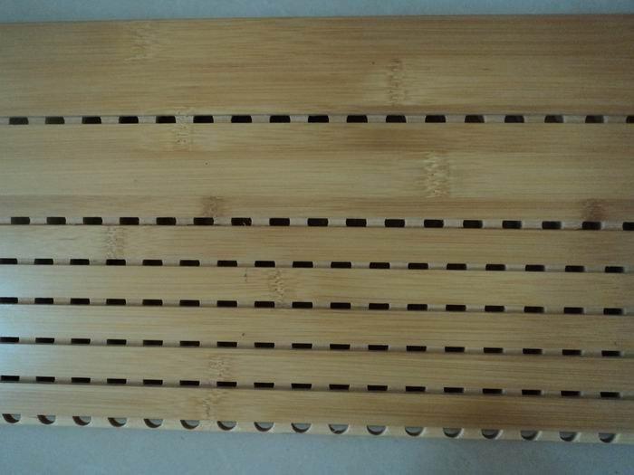 M lamine fini bambou acoustique panneau mural pour - Panneau mdf 3mm ...