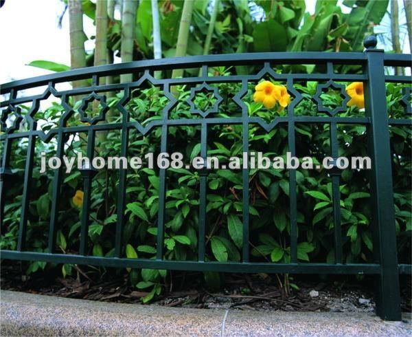 Wrought Iron Fence Grill Design / Iron Garden Fence - Buy Iron ...