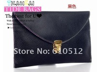 Маленькая сумочка 2012 Hot ladies' PU Hand bag, fashion handbag, clutch bag, Inclined shoulder bag, promation for christmas! 13