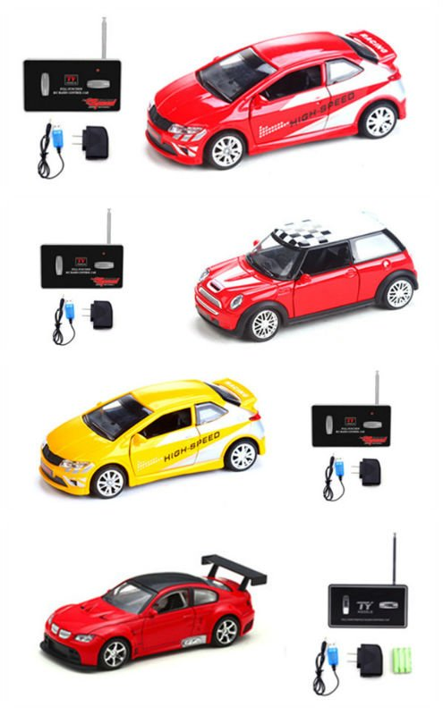 new 1:24 simulation alloy rc car