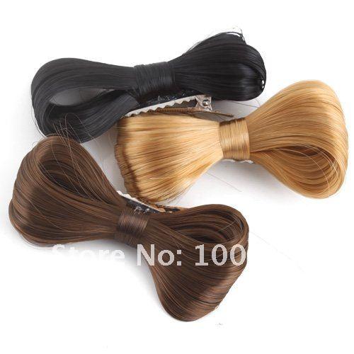 Заколки бантик для волос  из