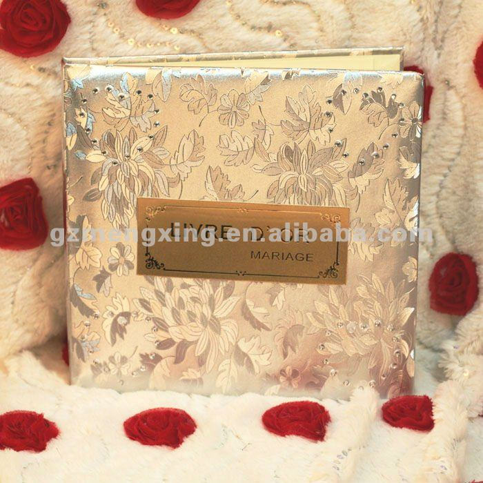 New!!! Pretty White Handmade Wedding Guest Book --- AB001