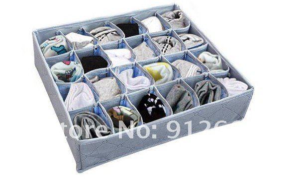 Как сделать коробка для хранения носков своими руками