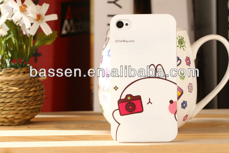 phone case for iphone 5 cartoon covered lovely potato rabbit cover series