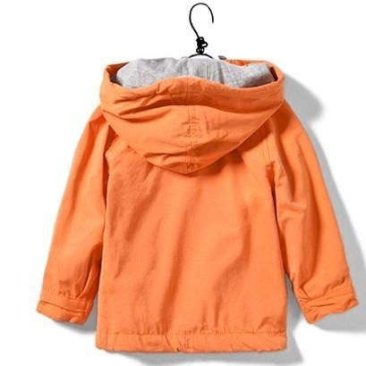 мальчики девочки одежду мальчика куртка Топ хлопок оранжевый 2-6 год длинный рукав толстовки куртки дети детей Пальто Верхняя одежда весна осень