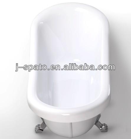 Indoor 100% Acrylic clawfoot bath