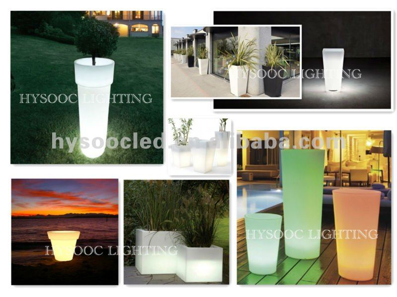 LED Flower Pot for decoration