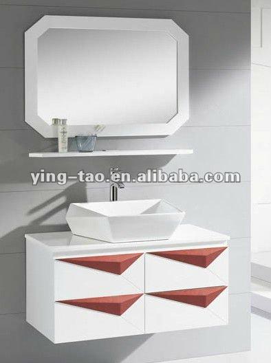 Enforcamento branco barato banheiro pia do banheiro armários baixos armário d -> Pia Dupla Banheiro Tamanho