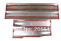 Нержавеющая сталь внутри дверь подоконник потертости пластины отделкой для 2010 hyundai tucson ix35 4шт за комплект