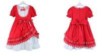 Платье для девочек three color korea style sumer girl princess dress big bowknot children dress for big girls causal dress