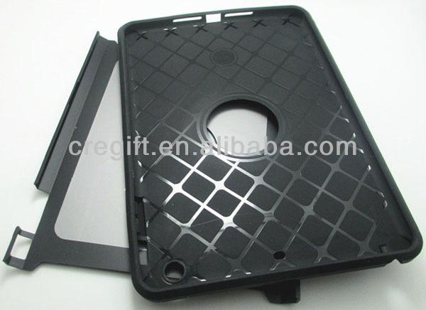 smart case TPU+PC jacket for ipad mini 1,hard case for ipad mini