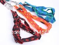 Ошейники и Поводки для собак 20 pcs/lot Pet Jacquard Footprints Leash Dog Rope collars Dog Products S-XL