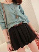Женские шорты Women's Fashion pantskirt Shorts 133 Black Green