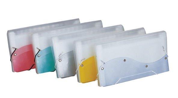 DL PP accordion file organise folder with elastic closure